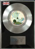 "Free - 7"" Platinum Disc - My Brother Jake"